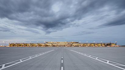 BER Flughafen Berlin Brandenburg, gmp Architekten von Gerkan Marg und Partner, Fotograf: Marcus Bredt
